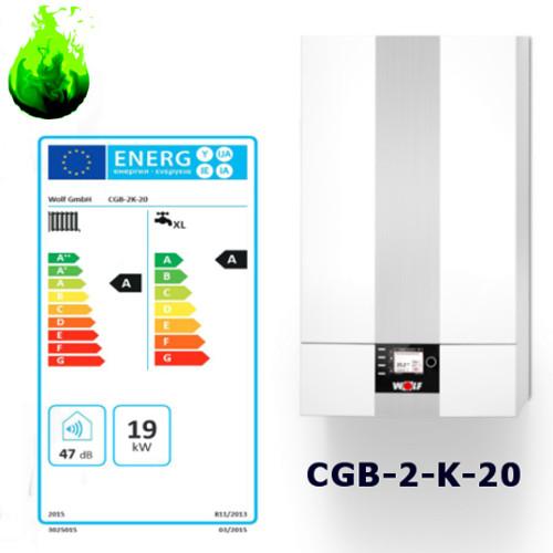 wolf cgb 2 k 20 20kw gas brennwert kombitherme gas. Black Bedroom Furniture Sets. Home Design Ideas