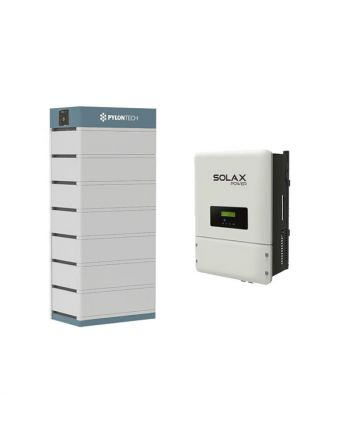 PylonTech Speicher & Solax X3 Hybrid 10.0-T Speicher Set | 24.5 kWh