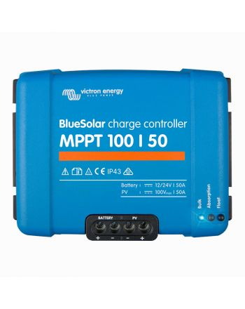 Victron Solar Laderegler | Blue Solar | MPPT 100/50 | 12/24V 50A