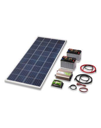 Solar Inselanlage | 1000 Watt Set | Strom erzeugen und speichern