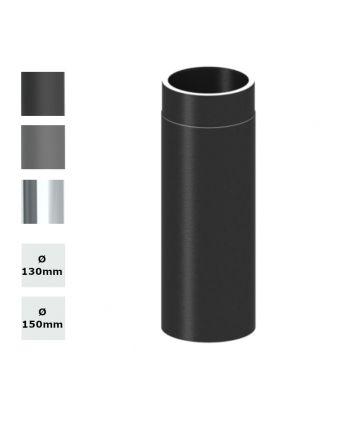 Jeremias Ofenrohr Längenelement 500mm   Ø wählbar   Farbe wählbar