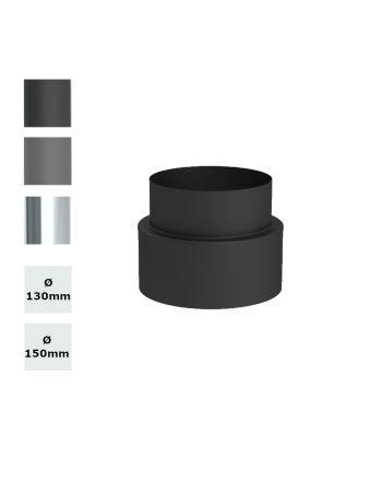 Jeremias Ofenrohr Übergang ISO-LINE auf EW   Farbe und Ø wählbar