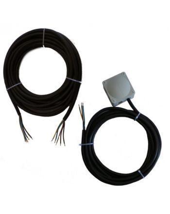 Montageset für Monosplit-Klimaanlagen | 3x6,0mm² 1Phasig | 1x IG