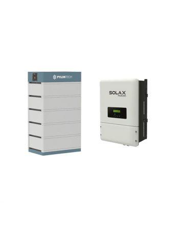 PylonTech Speicher & Solax X3 Hybrid 10.0-T Speicher Set | 17.5 kWh