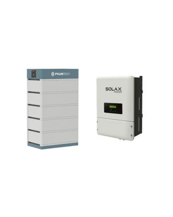 PylonTech & Solax PV Speicher Set + X3-Hybrid 8.0 T | 48V | 17.5 kWh