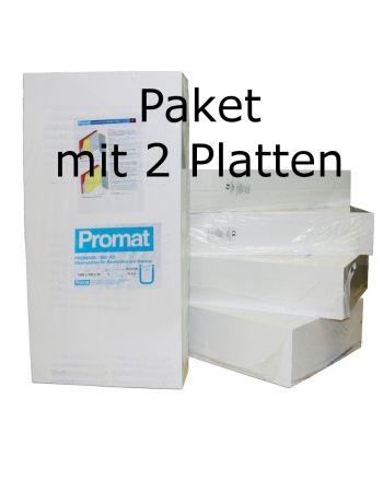Promat PROMASIL 950-KS 80mm 2xWärmedämmplatten Brandschutz A1 DIN 4102