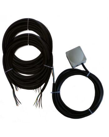Montageset für Multisplit-Klimaanlagen | 3x4,0mm² 1Phasig | 2x IG