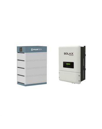 PylonTech Speicher & Solax X1 Hybrid 6.0-T 2.0 Speicher Set | 14 kWh