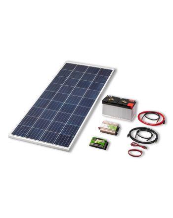 Solar Inselanlage | 300 Watt Set | Strom erzeugen und speichern