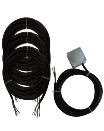 Montageset für Multisplit-Klimaanlagen | 3x2,5mm² 1Phasig | 3x IG