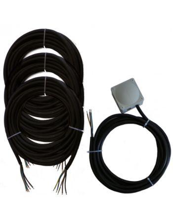 Montageset für Multisplit-Klimaanlagen | 3x4,0mm² 1Phasig | 3x IG