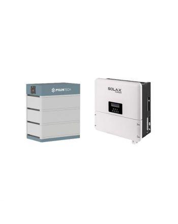 PylonTech Speicher & Solax X1 Hybrid 5.0-T Speicher Set | 10.5 kWh