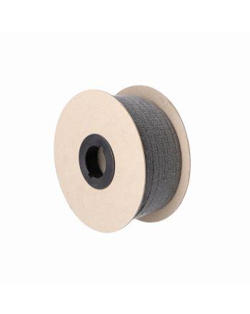 Kamin Dichtschnur Flachdichtung selbstklebend 8mm x 3mm schwarz