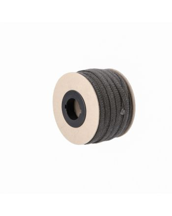 Kamin Dichtschnur Flachdichtung selbstklebend 10mm x 2mm schwarz