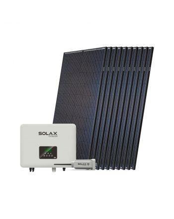 Solax Solar Komplett Set | 10x 380 Watt Halbzellen Module | 4000 Watt