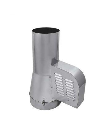 Rauchsauger + 12 Stufenregler für doppelwandige Schornsteinsysteme
