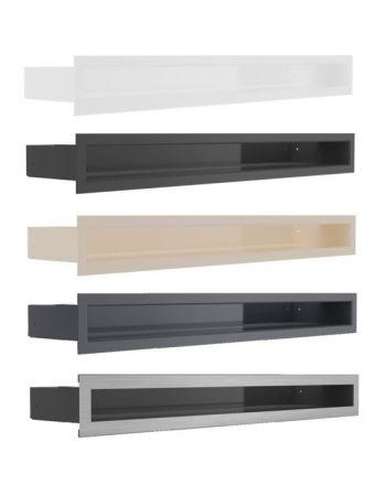 Kratki Lüftungsgitter, Luftleiste - Restposten | 60x600x98 mm