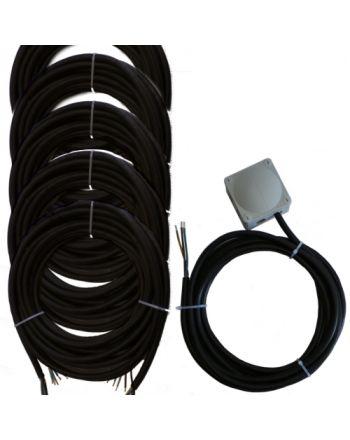 Montageset für Multisplit-Klimaanlagen | 3x6,0mm² 1Phasig | 5x IG