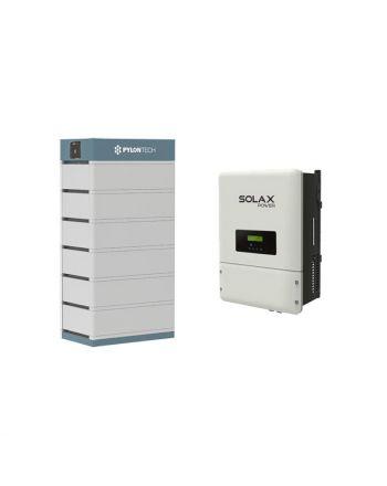 PylonTech & Solax PV Speicher Set + X3-Hybrid 8.0 T   48V   21 kWh