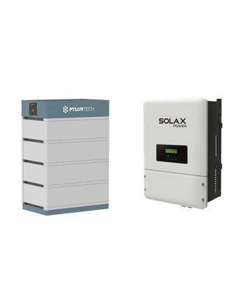 PylonTech & Solax Solar/PV Speicher Set | 48V | 12,4 kWh