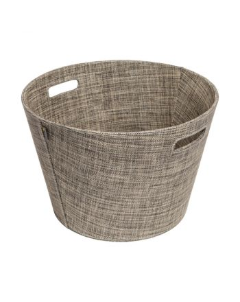 Aduro | Proline Holzkorb aus PET | khaki melange | Ø 45cm