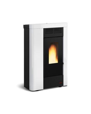 Extraflame Pelletofen Annabella | Weiß | 8,8 kW