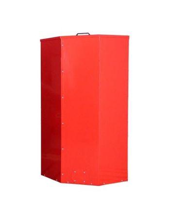 Atmos Pelletbehälter/Pelletsilo   1000 Liter   rot