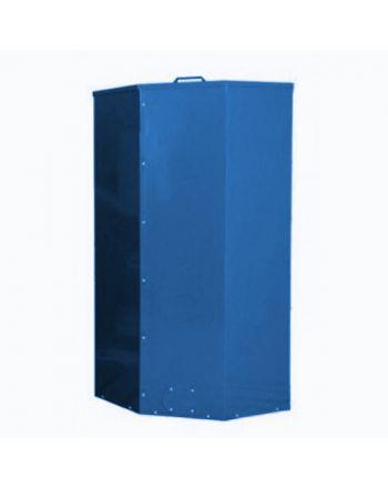 Atmos Pelletbehälter/Pelletsilo   500 Liter   blau