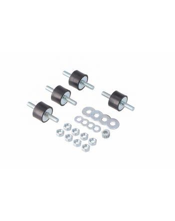 Schwingungsdämpfer 4 Stück für Klimaanlagen und Wärmepumpen