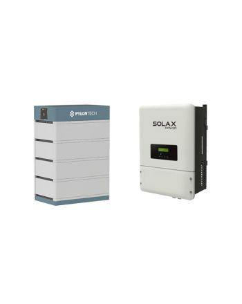 PylonTech & Solax PV Speicher Set + X3-Hybrid 10.T | 48V | 14 kWh