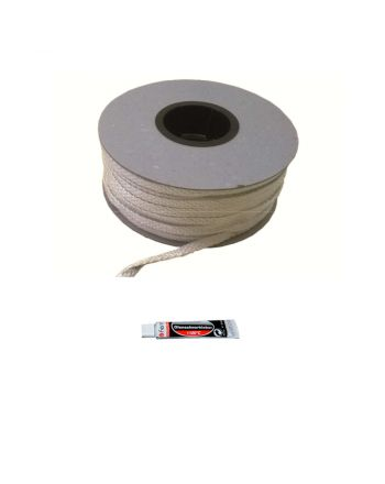 Fermit | Glasfaserband inkl. Kleber | weiß | 2 Meter