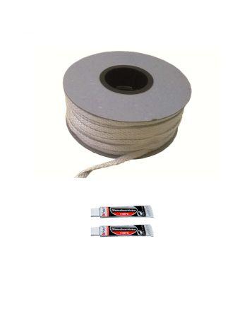 Fermit | Glasfaserband inkl. Kleber | weiß | 3 Meter