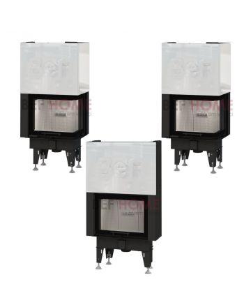 Warmluft Kamineinsatz BEF FEEL V 7 | hochschiebbar | 7 kW