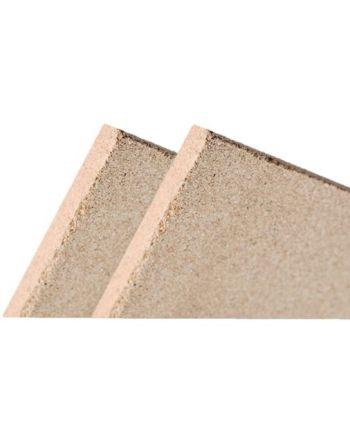 2x Vermiculite Brandschutzplatte | 400x600x30mm | Schamotte-Ersatz