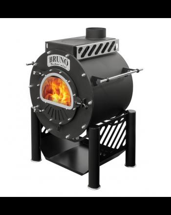Werkstattofen Bruno® Techno Mini | mit Kochplatte und Ständer | 9 kW