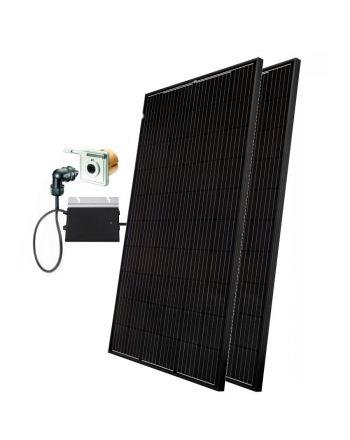 Minisolar | Balkon Solar | Mono Duo 600 W | inkl. Einspeisesteckdose