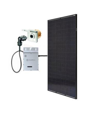 Minisolar | Balkon Solar | Mono Single 300 Watt | inkl. Einspeisesteckdose