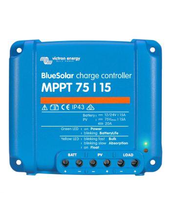 Victron Solar Laderegler | Smart Solar | MPPT 75/15 | 12/24V 15A