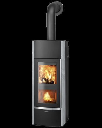 ORANIER | HEKTOS AQUA | Holzvergaserofen | Dual-Fire | 10,5 kW