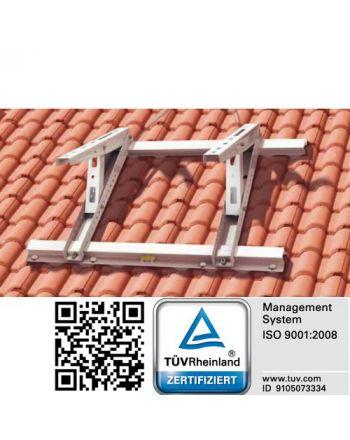 universelle Dachkonsole für Klimaanlagen | Schrägdächer 9° bis 45°