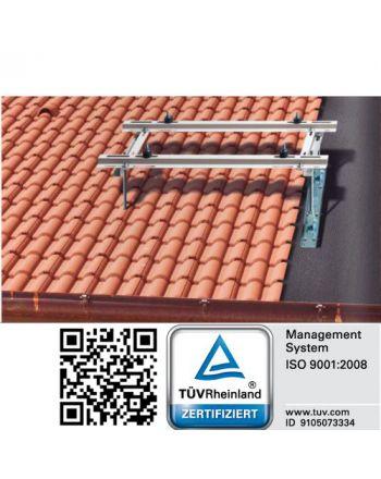 Universal Dachkonsole für Klimaanlagen | Schrägdächer 10° bis 40°