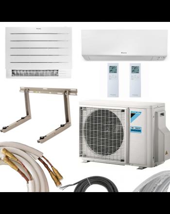 DAIKIN Perfera MultiSplit Klima-Set | 5,0kW + 2,5kW | Quick Connect