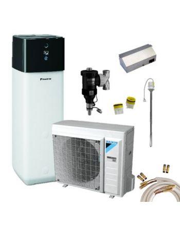 Daikin Luft-Wasser-Wärmepumpen Set | Altherma 3 R | 4 kW + 300 L | H
