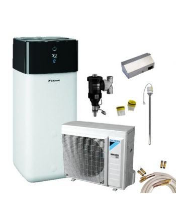 Daikin Luft-Wasser-Wärmepumpen Set | Altherma 3 R | 8 kW + 500 L | H