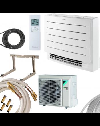 DAIKIN Perfera Klima-Set Truhe | FVXM25A+RXM25R | 2,4 kW Quick-Connect