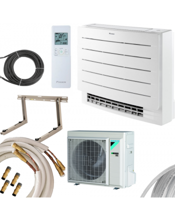 DAIKIN Perfera Klima-Set Truhe | FVXM35A+RXM35R | 3,4 kW Quick-Connect