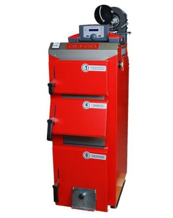 Festbrennstoffkessel Defro Optima Komfort Plus 3,9kW keine Messpflicht