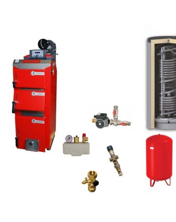 Defro Optima Komfort Plus Festbrennstoffkessel | Hygieneset | 3,9 kW
