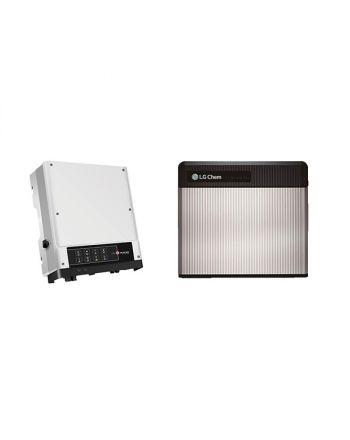 LG CHEM RESU 3.3 Lithium Ionen 3,3 kWh + Wechselrichter
