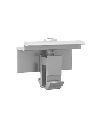 K2 EC Universal Endklemmen Clamp Set   30-50mm SILVER